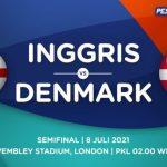Prediksi Skor Inggris vs Denmark di Semifinal EURO 2021 Live RCTI, Kans Berakhir Lewat Penalti