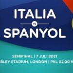 Prediksi Euro: Italia vs Spanyol 7 Juli 2021